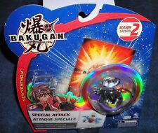 BAKUGAN BAKUBRONZE DARKUS PREYAS II 2 ANGEL DIABLO BLACK BATTLE BRAWLERS RARE