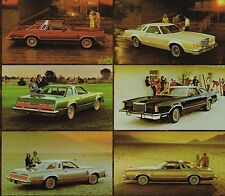 1977 Ford Thunderbird TOWN LANDAU Brochure / Catalog : T-Bird