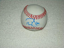 Phil Coke & Dave Dombrowski Signed Baseball Autograph Tigers Yankees Pirates