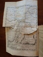 RARE 1767 Travels through Turkey in Asia, Holy Land, Arabia, Egypt Jerusalem MAP
