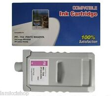 WF PFI-704 Photo Magenta Ink Cartg. Compatible for Canon Printer iPF 8300S 8300