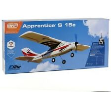 EFLITE APPRENTICE S 15E BNF BIND IN FLY TRAINER RC AIRPLANE NEW IN BOX EFL3180