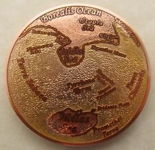Oceans of Mars Geocoin - Rage, Destruction, and Glory Edition - Limited Edition
