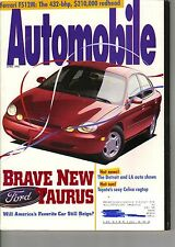 Automobile Magazine April 1995 Issue Ford Taurus on the Cover