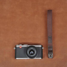 Thin Coffee Cotton Camera Strap with ring connection by Cam-in