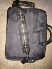 "Dell 15.6"" Black Nylon Laptop Travel Carry Case Bag with Shoulder Strap - C5CDG"