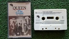 "QUEEN ""The Game - El Juego"" ORIGINAL 1980 Spain CASSETTE Freddie Mercury"