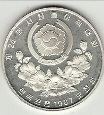 COREE DU SUD 5000 WON 1988  SILVER/ARGENT