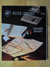 BUICK Leasing orig 1994 USA Market glossy brochure