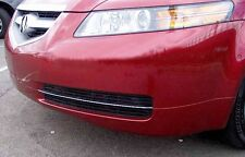 LOWER GRILL GRILLE CHROME ACCENT TRIM STRIPS KIT FIT 2004 - 2006 04 06 ACURA TL