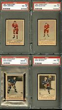 1951 Parkhurst 1951 52 Hockey 90 Jack Evans ROOKIE PSA 8 NM-MT New York Rangers