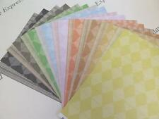 Diamond Script Stripes Double Sided Heavyweight Paper A4 x 45 (9 Colours) AM631
