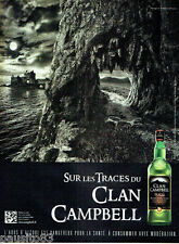 PUBLICITE ADVERTISING 086  2012  sur les traces du clan Campbell  whisky écosse