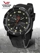 Vostok Europe Lunokhod 2 Automatic NH35A-620 Version black incl. two Bands