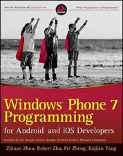 Windows Phone 7 Programming for Android and iOS Developers-ExLibrary