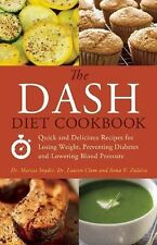 DASH DIET COOKBOOK (2012) Low Sodium Hypertension High Blood Pressure NEW book