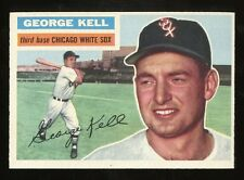1956 Topps #195 George Kell *White Sox* EX-MT