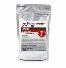 1000g (2.2 lbs) PURE NIACIN NICOTINIC ACID POWDER VITAMIN B3 CHOLESTEROL HEART
