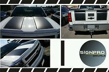 New Z71 2014-2016 Chevy Silverado Hood Tail Stripe Decals Graphic Choose Style