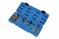 DIESEL INJECTOR SEATS CLEANER BRUSHES DRIVER PORT SEALING PLUGS TOOL KIT