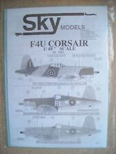 Sky Models Decal 1/48 #043  F4U Corsair