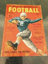1949 DELL Intercollegiate and Professional FOOTBALL