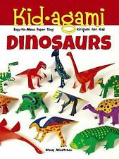 Kid-agami -- Dinosaurs: Kirigami for Kids: Easy-to-Make Paper Toys Dover Childr