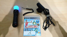 Sony move controller + Sports Champions Move GAME  + CAMERA PS3 !!!