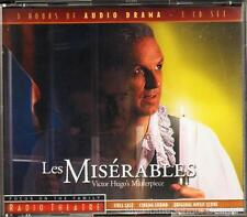 NEW Sealed LES MISERABLES Focus on the Family Radio Theater 3 CD Audio Set