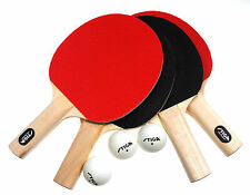 New Stiga Classic 4-Player Table Tennis Ping Pong Paddles Racket Set Ship Free