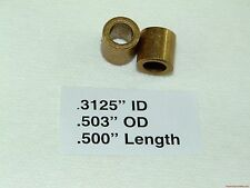 "Bronze Bearing Bushing Sleeve 5/16"" ID X ½"" OD X ½"" Length"