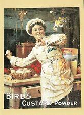 (10829) Cartolina - Uccelli Delle Polveri Per Budino - Pubblicità