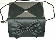 Avon - Rhapsodie in Scharz - Black Bow Style Evening Handbag