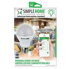 Simple Home Dimmable Smart Wifi LED Bulb