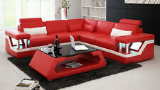 English Exclusively Customized Genuine Leather Sofa Design