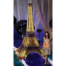 EIFFEL TOWER 3D Lighted CARDBOARD CUTOUT Standup Standee Poster 12 Feet Tall F/S