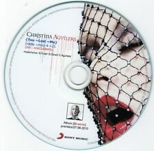 CHRISTINA AGUILERA 'YOU LOST ME' RARE POLISH PROMO CD!