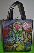 Beauty and the Beast Disney Belle Reusable Eco Tote Shopping Bag NEW