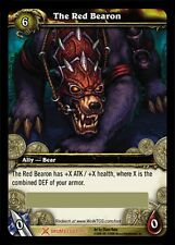 WORLD OF WARCRAFT WOW TCG : THE RED BEARON BATTLE MOUNT LOOT CARD UNSCRATCHED