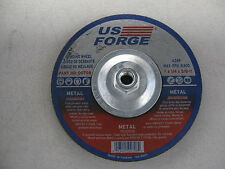 LOTS OF 2 US FORGE 00708 GRINDING WHEEL A24R 7 X 1/4 X 5/8-11
