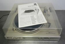 vintage turntable direkt drive automatic record player Dual CS627 Ortofon System
