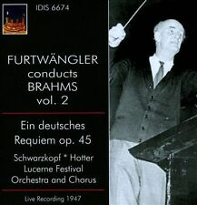 Wilhelm Furtwangler Conducts Brahms Vol. 2, New Music