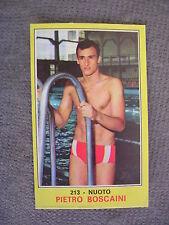 FIGURINA PANINI CAMPIONI DELLO SPORT 1970/71 # 213 - PIETRO BOSCAINI