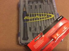 Blue Point 20 In 1 Precision Screwdriver Set With Snap On Mini Screwdrivers New