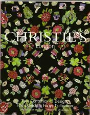 CHRISTIE'S Pattern Textile Design Bianchini Ferier Collection Raoul Dufy Catalog