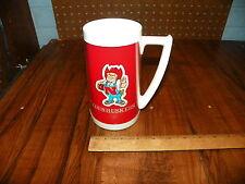"Vintage WEST BEND TERMO-SERV ""NEBRASKA CORNHUSKERS"" Beer Mug"