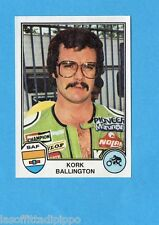 SPORT SUPERSTARS/EURO FOOTBALL 82-PANINI-Figurina n.254- BALLINGTON-SUD AF -Rec