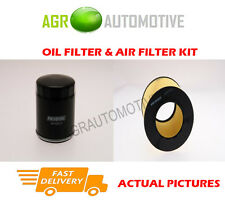 PETROL SERVICE KIT OIL AIR FILTER FOR SAAB 9-5 2.3 182 BHP 2008-10