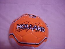 ROBIN VAN PERSIE SIGNED HOLLAND FOOTBALL