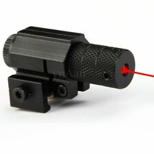 Red Dot Laser Light Tactical Sight Scope 20mm Picatinny Rail Mount For Hunting